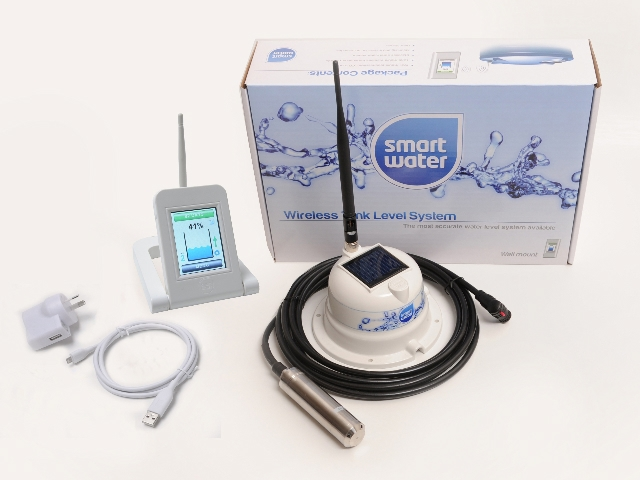 Water Level Monitoring System : Smart water wireless tank level monitor