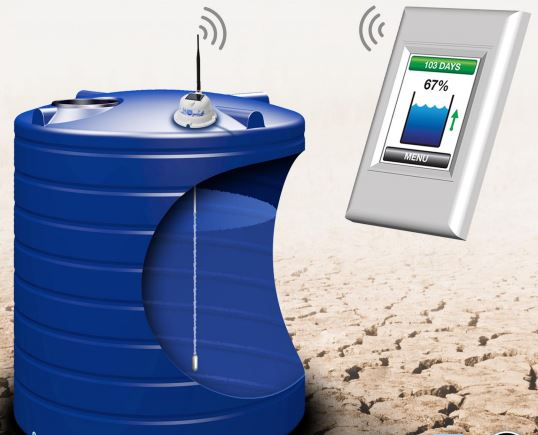 Water Level Monitoring System : The fuel minder store remote oil level gauges for
